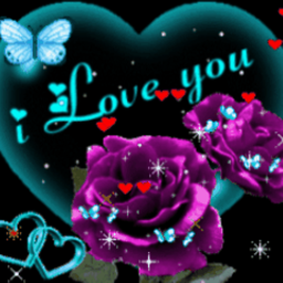Butterfly I Love You 3 Live Wallpaper