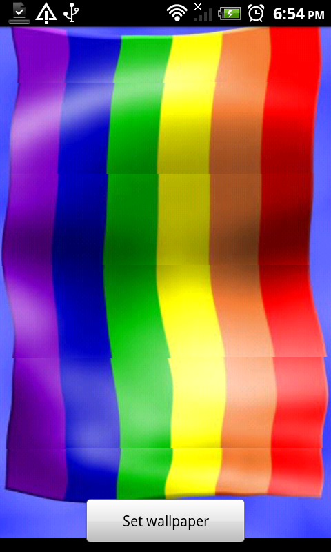 Rainbow Flag Live Wallpaper App Ranking And Store Data App Annie