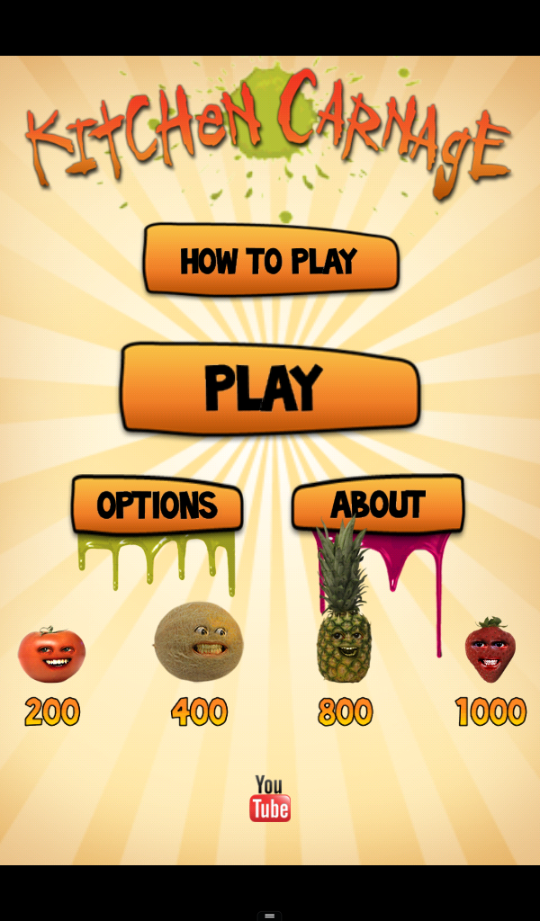 annoying orange: kitchen carnage app ranking and store data | app