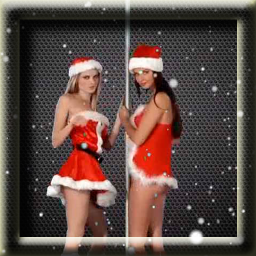 Dancing Girl Live Wallpaper Dancing Christmas Girls Live