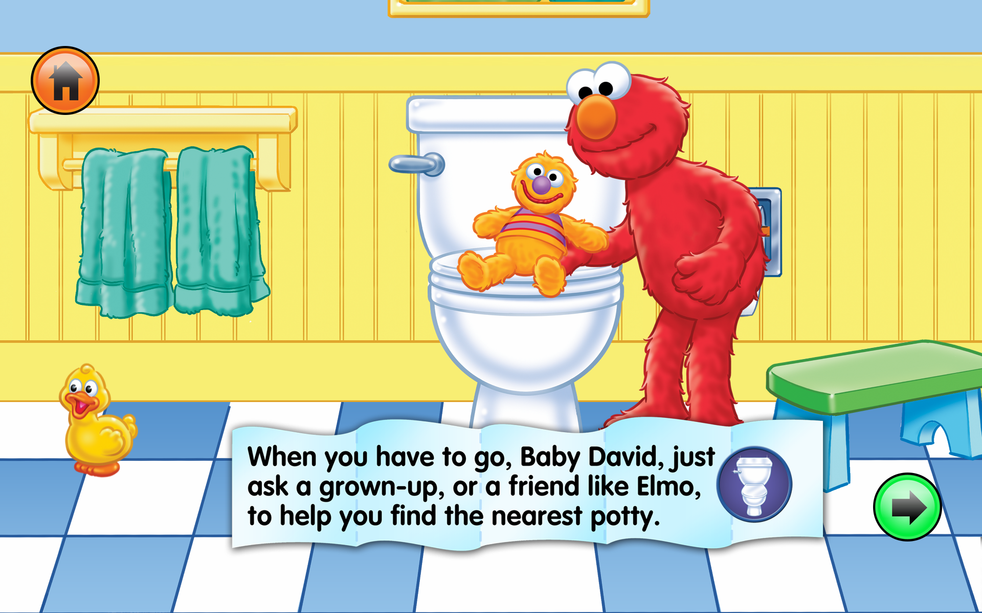 sesame street potty chart