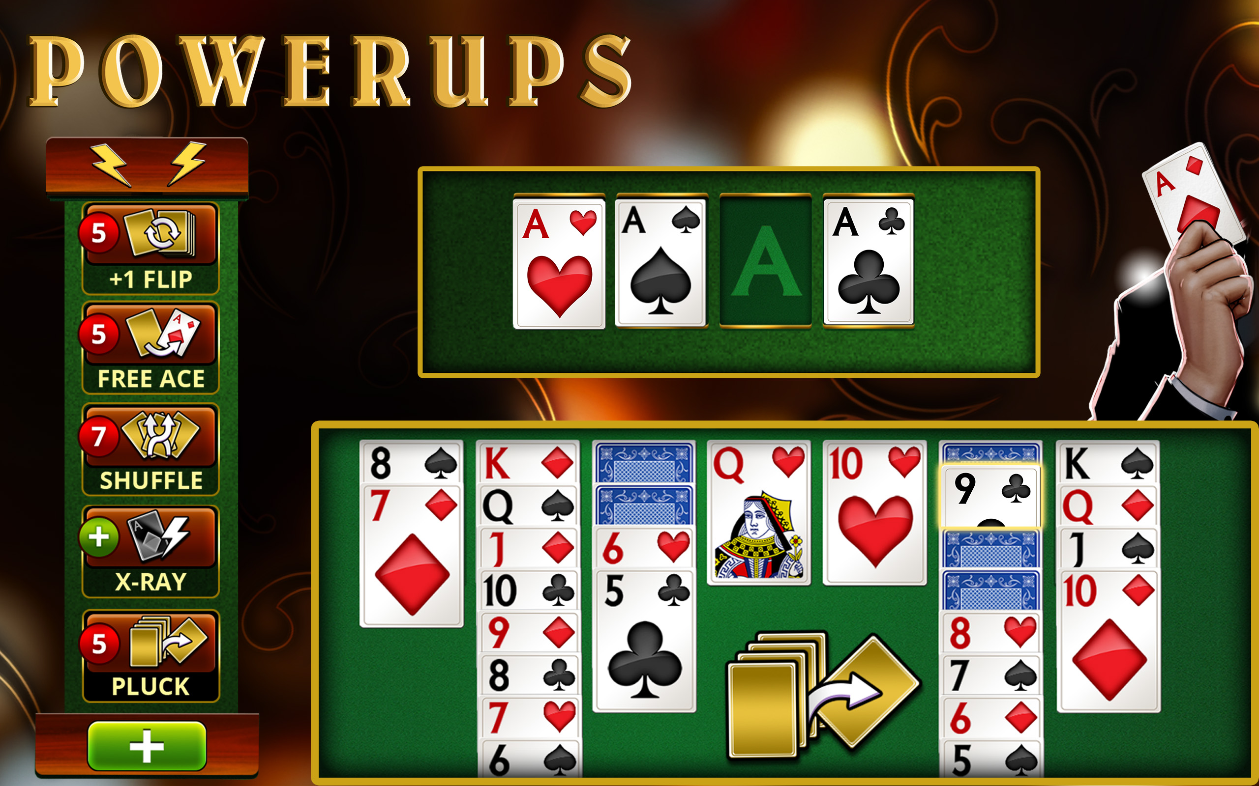 free online vegas solitaire