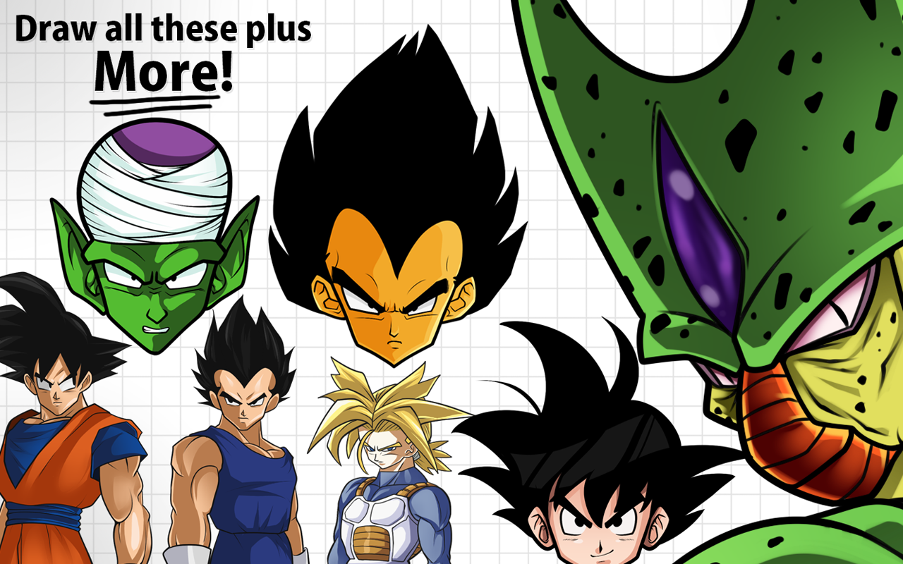 How To Draw Dragon Ball Z Pro Edition App Ranking And