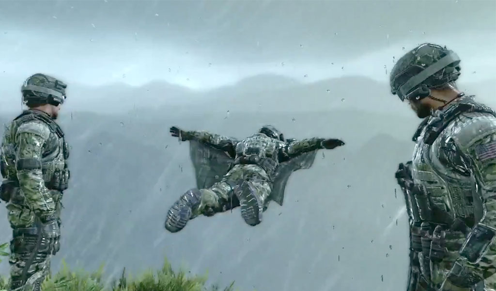 Skydiving wallpapers hd app ranking and store data app annie - Military wingsuit ...