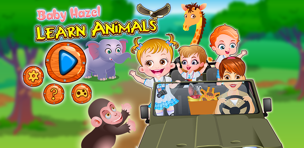 Baby Hazel Learn Animals - Baby Hazel Games To Play ...