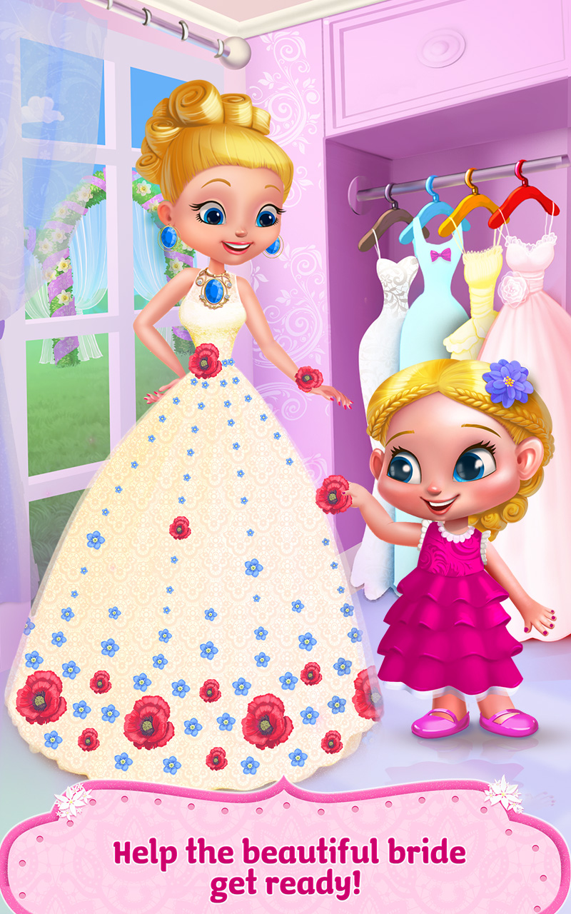 Flower girl crazy wedding day app ranking and store data for Design your own wedding dress app