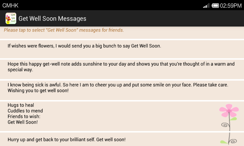 Get Well Soon Messages App Ranking And Store Data App Annie
