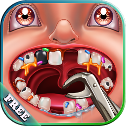 Dentist for Kids : treat patients in a Crazy Dentist clinic ! Fun