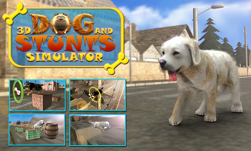 Dog Stunts & Simulator 3D - Crazy Dog Games App Ranking and