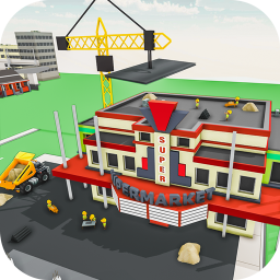 Super Market Construction New Building Construction Game Supermarket Mania 3d Shopping Mall Construction Game App Ranking And Store Data App Annie