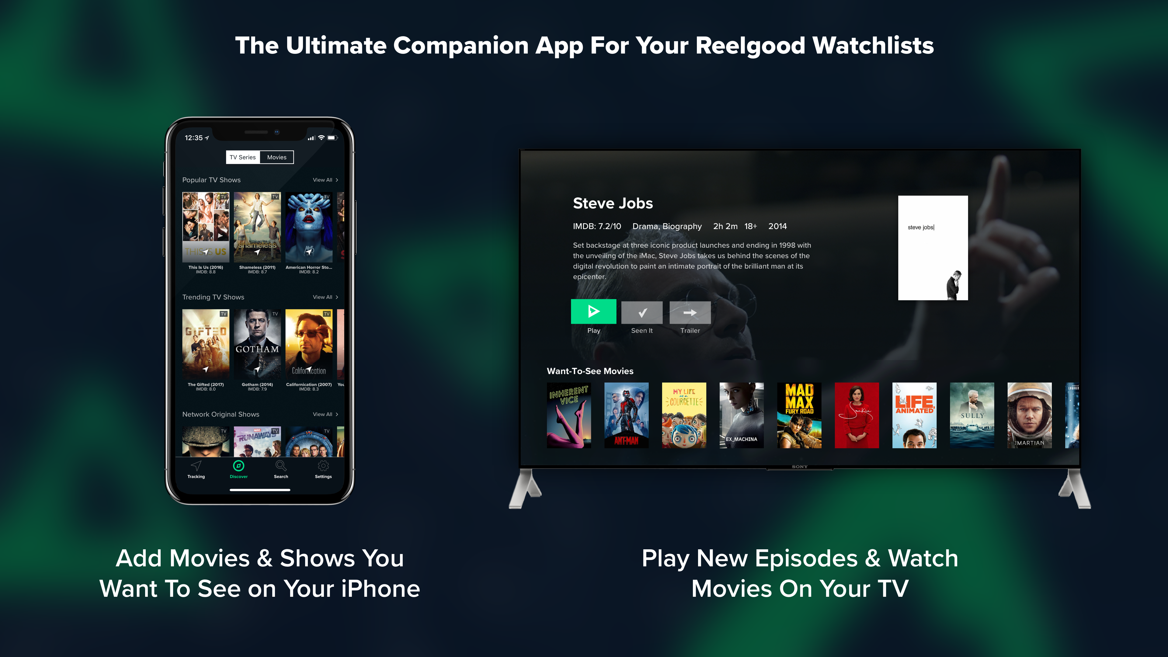 Reelgood - Streaming Guide App Ranking and Store Data | App Annie