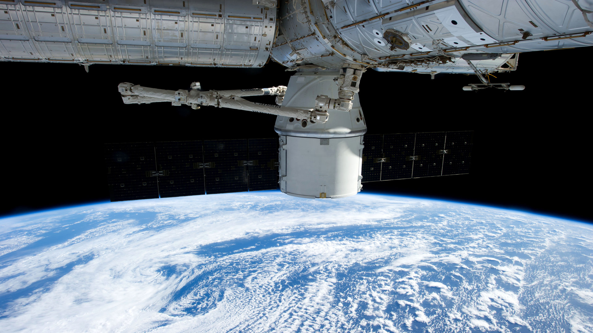 view from space station live - photo #12