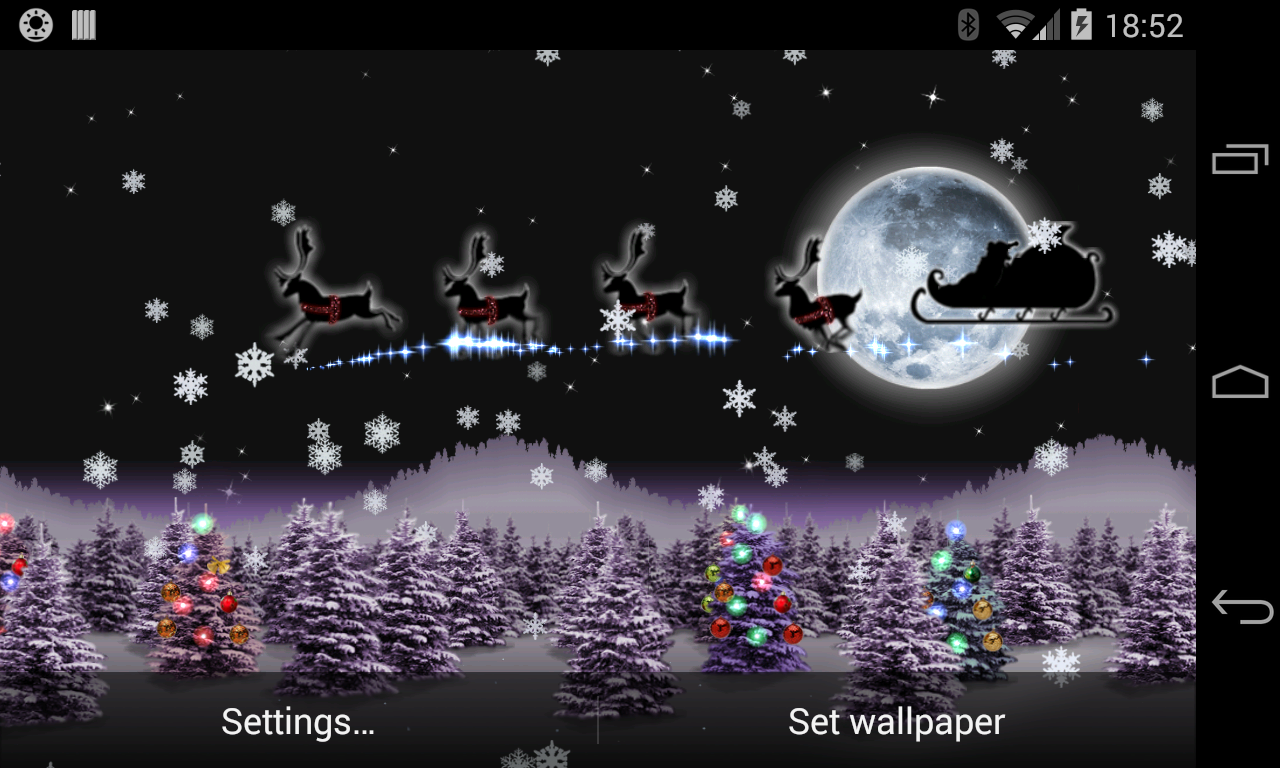Christmas Live Wallpaper Santa App Ranking And Store Data App Annie