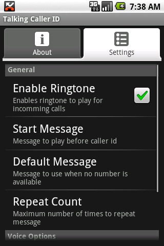 Talking Caller ID (free) - Android Mobile Analytics and App Store Data