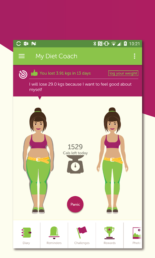 My Diet Coach - Weight Loss Motivation & Tracker App Ranking