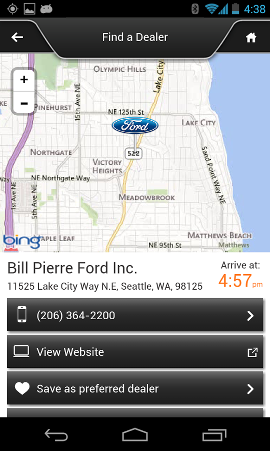 ford sync destinations android apps on google play autos post. Black Bedroom Furniture Sets. Home Design Ideas