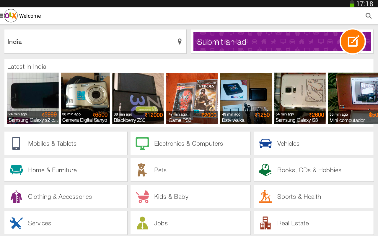 OLX Free Classifieds - Android Mobile Analytics and App Store Data