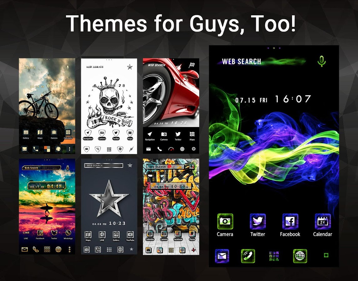 Wallpaper Theme +HOME Launcher App Ranking and Store Data