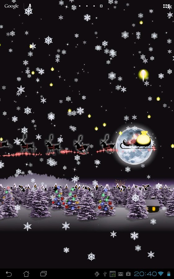 christmas live wallpaper hd google play store top apps