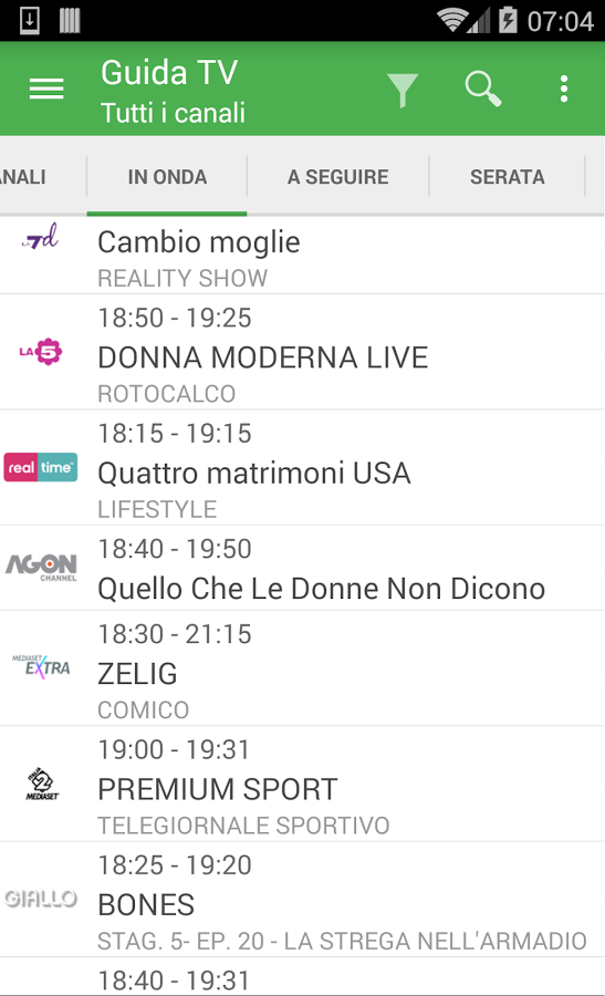 Tv Guide Italy Free App Ranking And Store Data App Annie