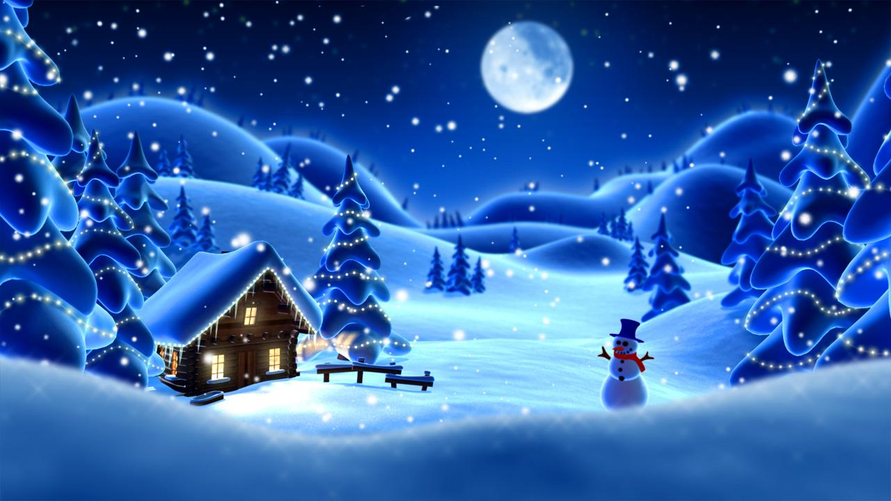 winter snow live wallpaper lwp app ranking and store data. Black Bedroom Furniture Sets. Home Design Ideas