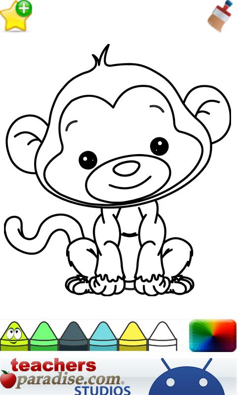 Baby Animals Coloring Book App Ranking And Store Data