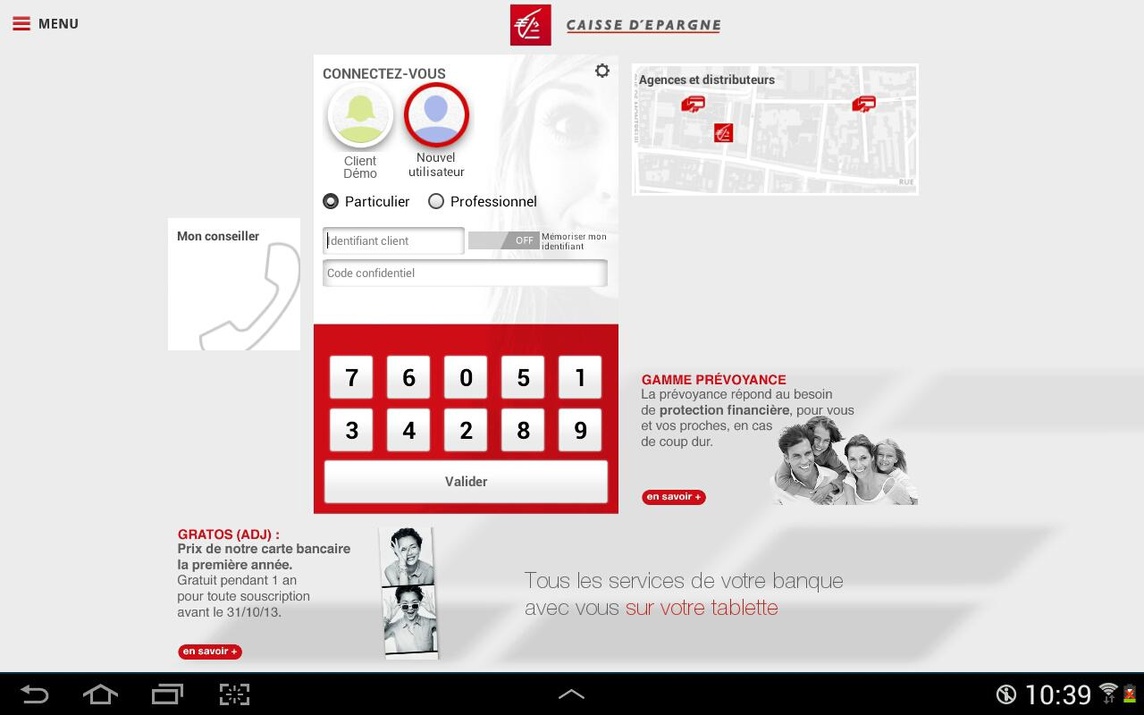 Banque Pour Tablettes Android App Ranking Und Store Daten