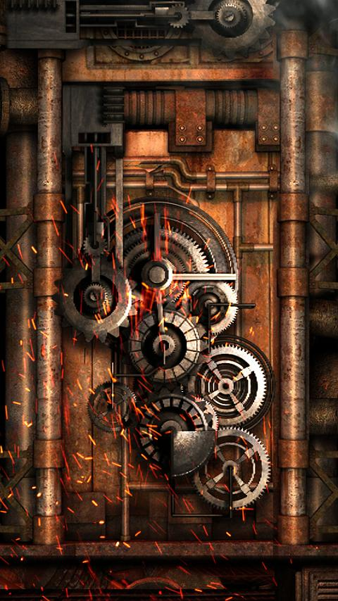 Steampunk live wallpaper gears app ranking and store data for Steampunk wallpaper home