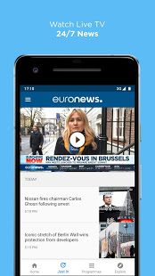 Euronews: Daily breaking world news & Live TV App Ranking and Store