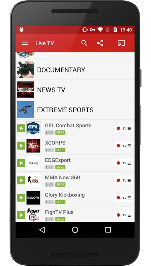 Live Sports Tv App For Android