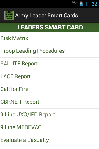 Army Leader Smart Cards App Ranking And Store Data App Annie