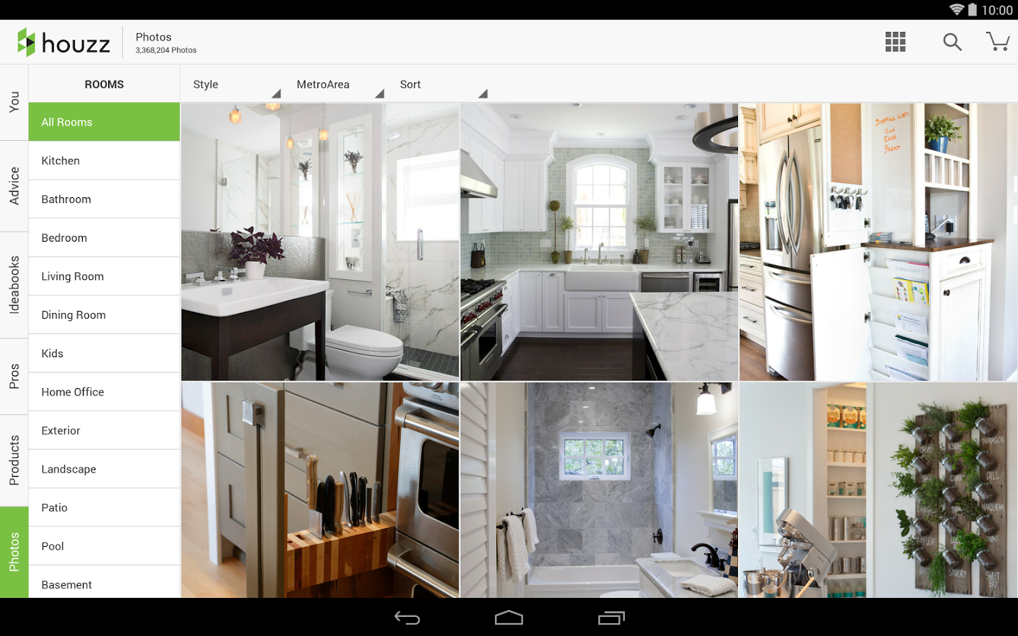 Houzz interior design ideas android mobile analytics and Interior design app android