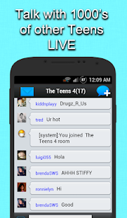 Teen chat rooms adult chat — 9