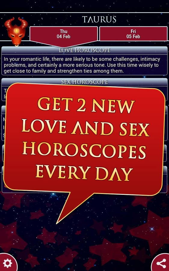 MILF built daily sex horoscope