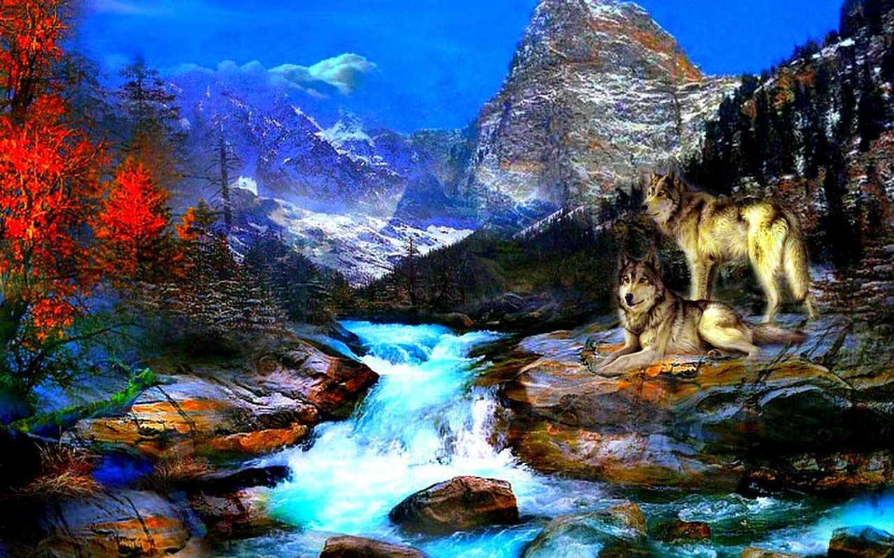 3d wolf wallpapers appranking und storedaten app annie