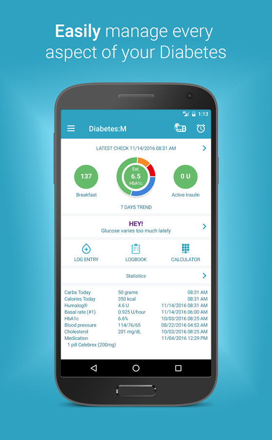 Diabetes:M App Ranking and Store Data | App Annie