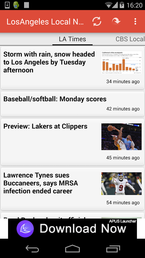 Los Angeles Local News App Ranking and Store Data | App Annie
