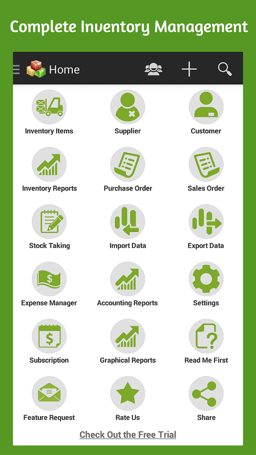 Inventory,Purchase,Sales Order App Ranking and Store Data | App Annie