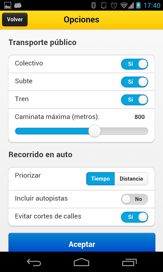 BA Cómo Llego - Android Mobile Analytics and App Store Data