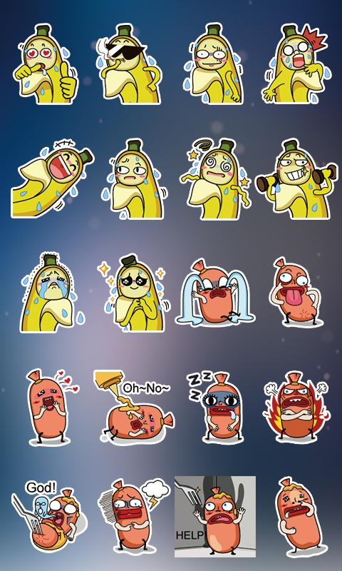 GO SMS Pro Bobo&Banana Sticker - Android Mobile Analytics and App Store Data