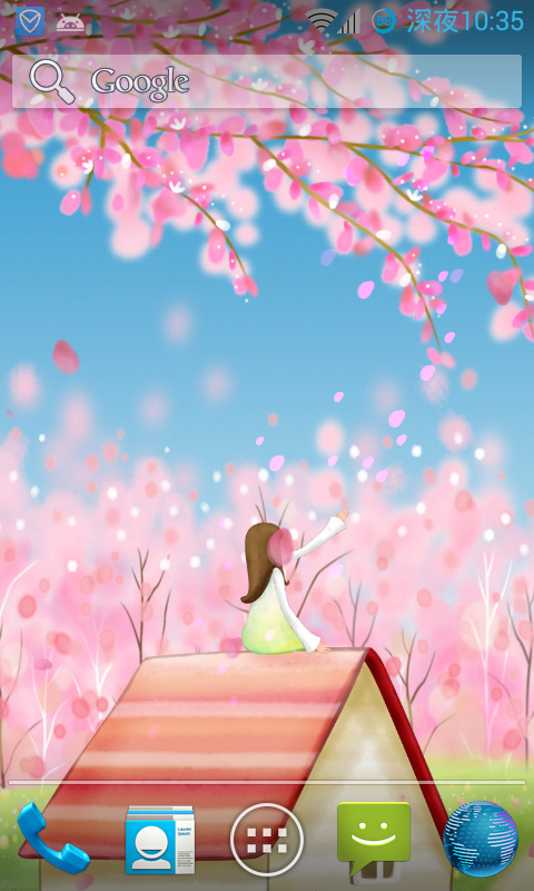 Sakura Live Wallpaper Free App Ranking And Store Data App Annie