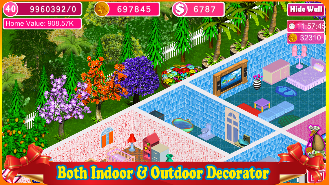 Home design dream house app ranking and store data app for Virtual families 2 decoration