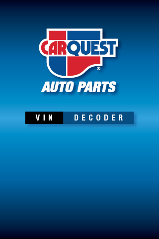 CARQUEST VIN Decoder - Android Mobile Analytics and App Store Data