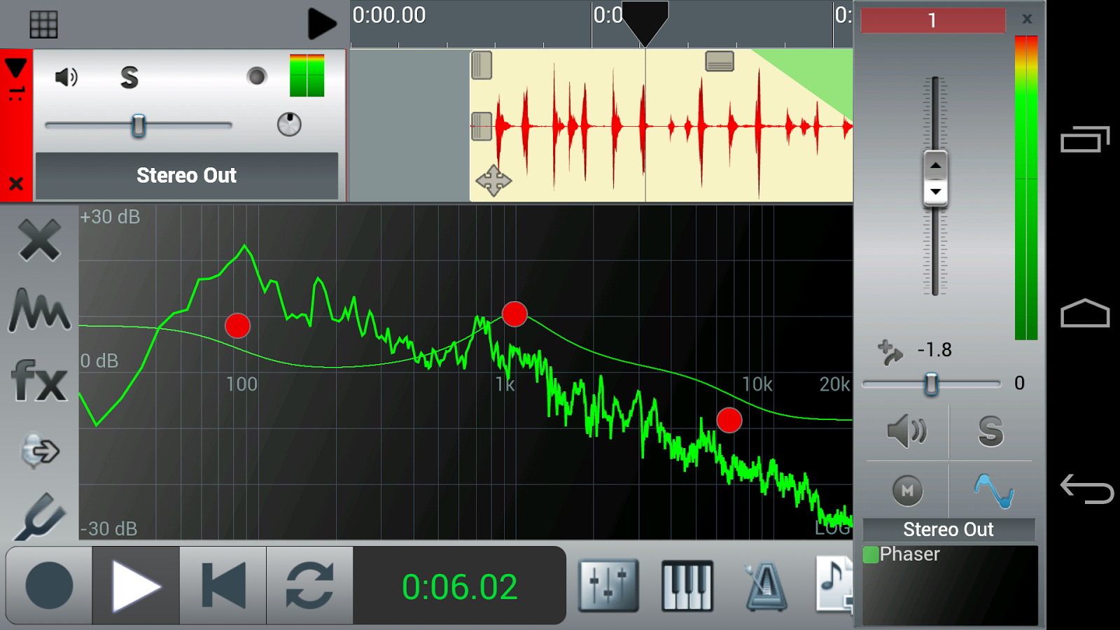 n-Track Studio Pro Multitrack - Google Play Store Top Apps ...
