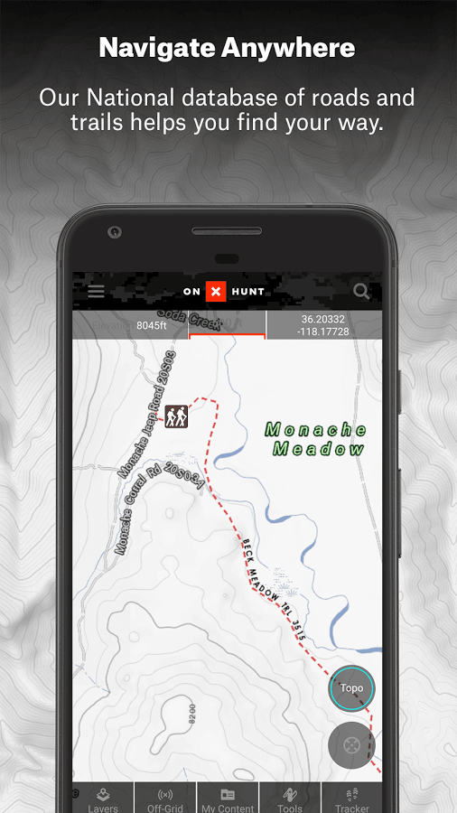 OnX Hunt Maps Hunting GPS Offline US Topo Maps App Ranking And - Onxmaps free trial