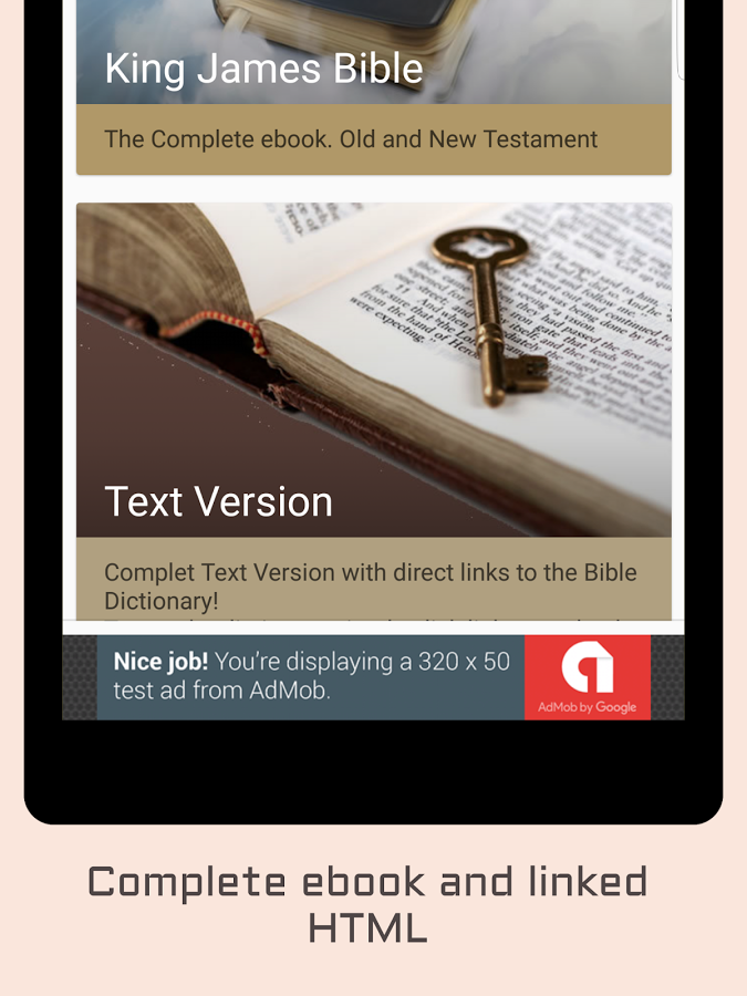 Download King James Bible for Android - free - latest