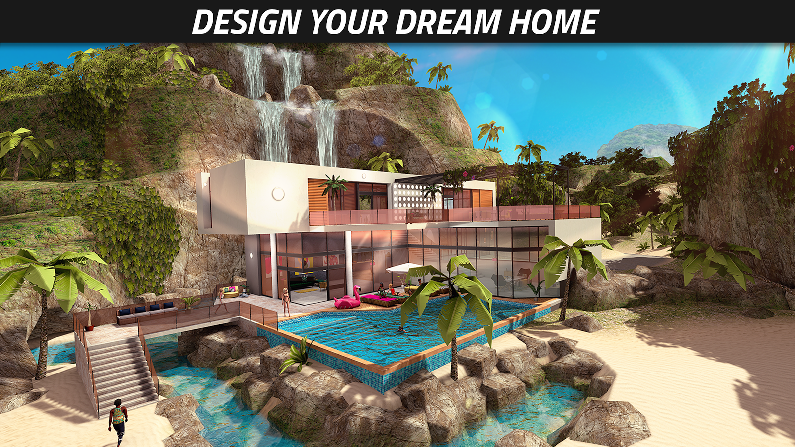 Avakin life 3d virtual world app ranking and store data Create your house game