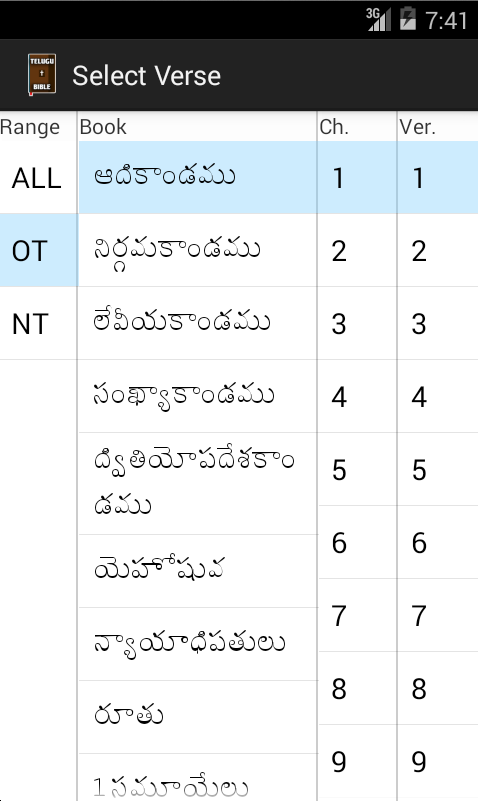 Telugu Bible App Ranking and Store Data | App Annie