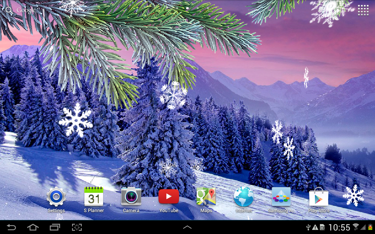 Winter Live Wallpaper App Ranking And Store Data