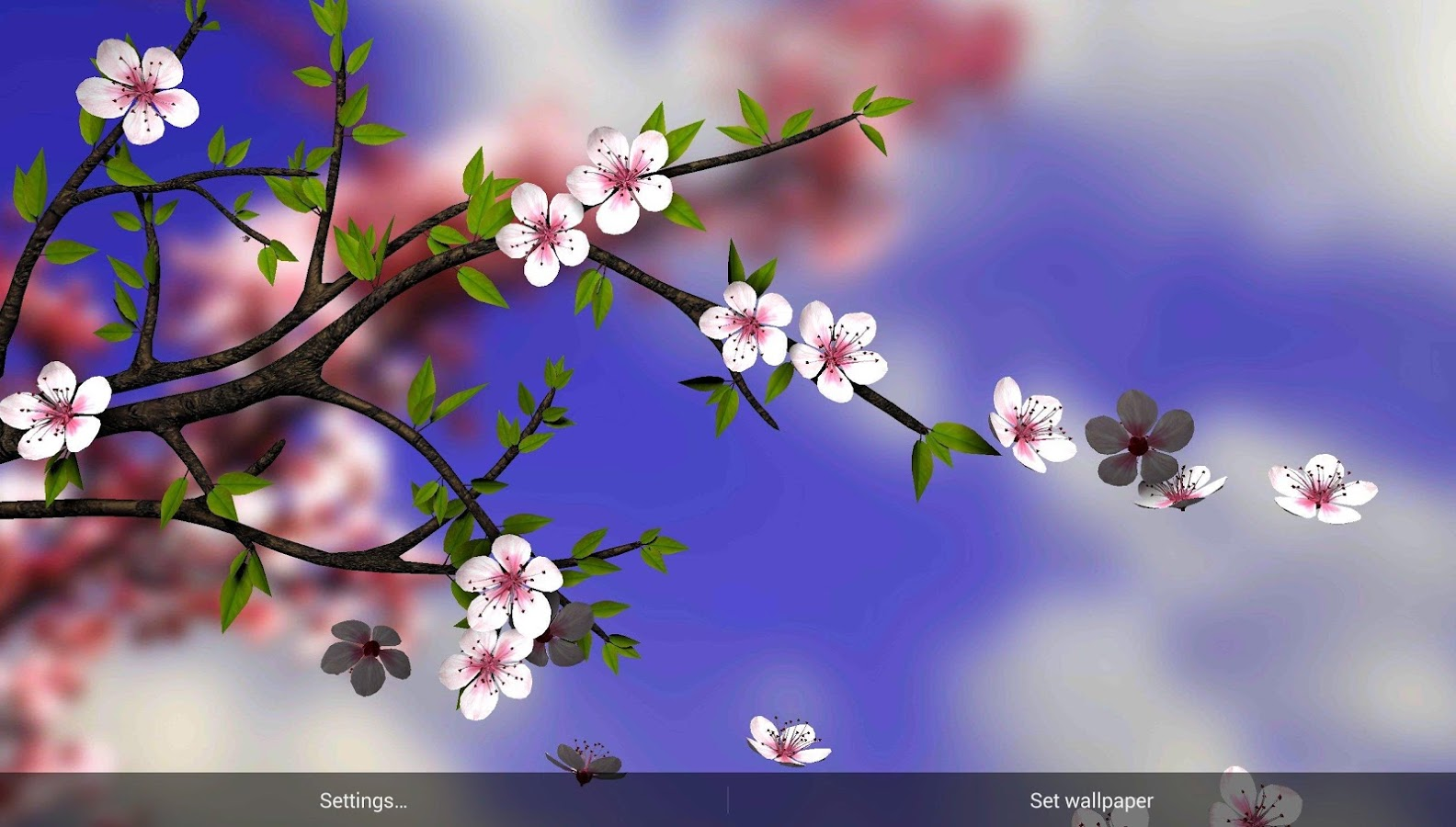 Spring Flowers 3D Parallax Pro App Ranking and Store Data App Annie